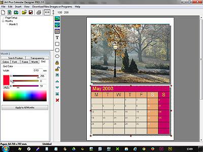 التقويمات بكArtPlus Calendar Designer 2.0.2  2018,2017 caldes3.jpg